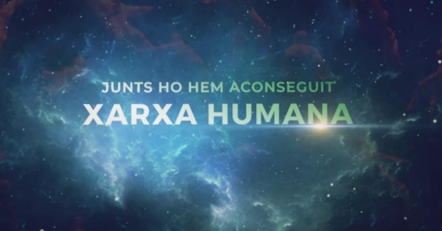 Es presenta el documental «Xarxa humana: Junts ho hem aconseguit»