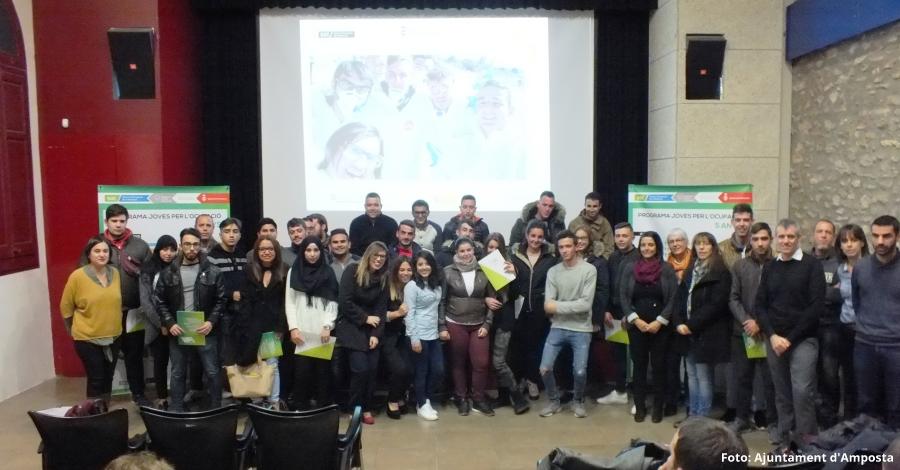 Els programes Joves per l'Ocupació entrega els diplomes als 90 participants d'aquesta edició | Amposta.info
