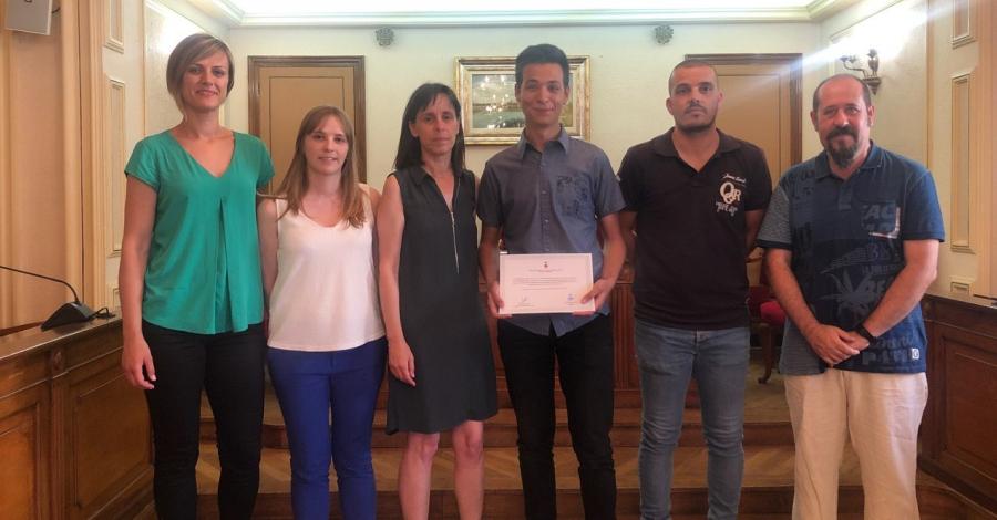 Un treball sobre el primer Ajuntament democràtic a Amposta, Premi de Recerca de Batxillerat Ciutat d'Amposta