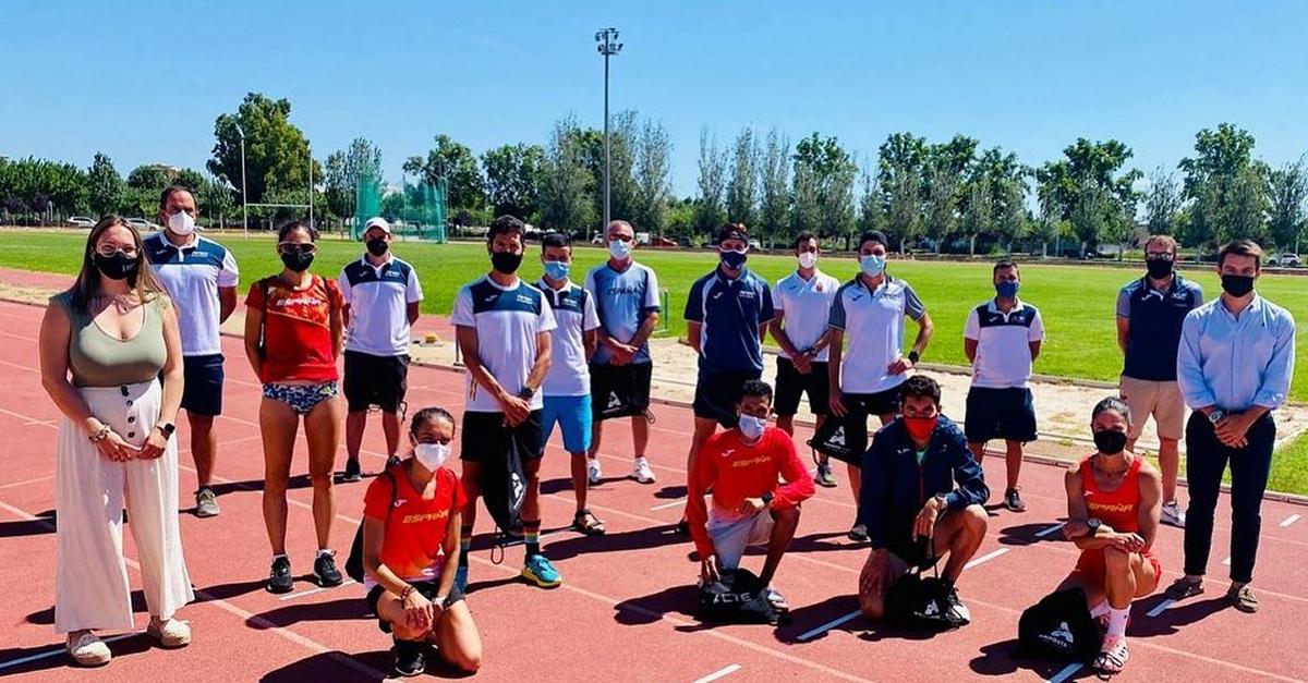 L'equip olímpic de marató prepara Tòquio 2021 al Centre de Tecnificació Esportiva de les Terres de l'Ebre