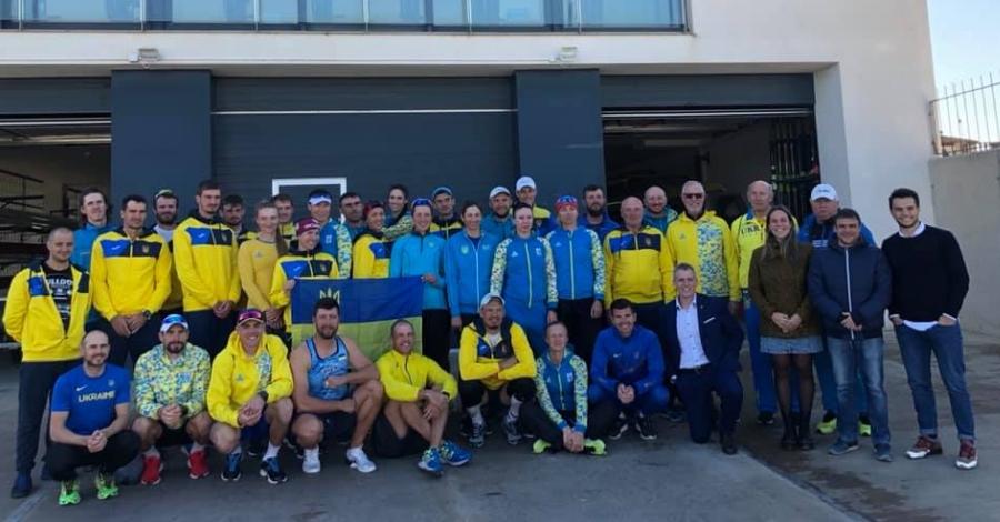 El Centre de Tecnificació Esportiva acull l'equip nacional de rem d'Ucraïna