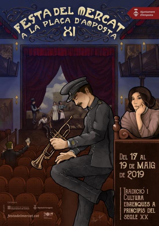 La música serà l'eix central de l'onzena edició de la Festa del Mercat a la Plaça | Amposta.info