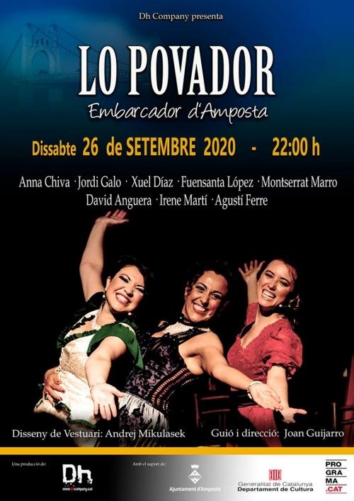 Espectacle: Varietés Lo Pavodor, a càrrec de Dh Company