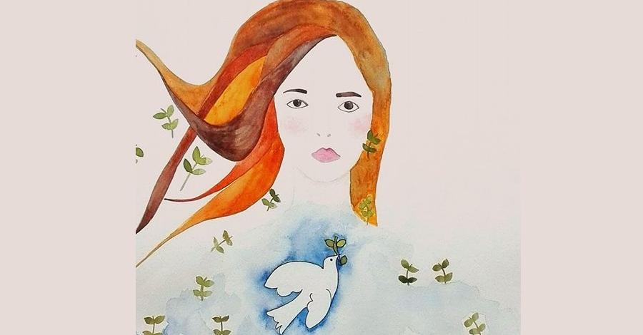 """Exposició pictòrica """"Com a ninfes"""", a càrrec de l'artista Cori Asens"""