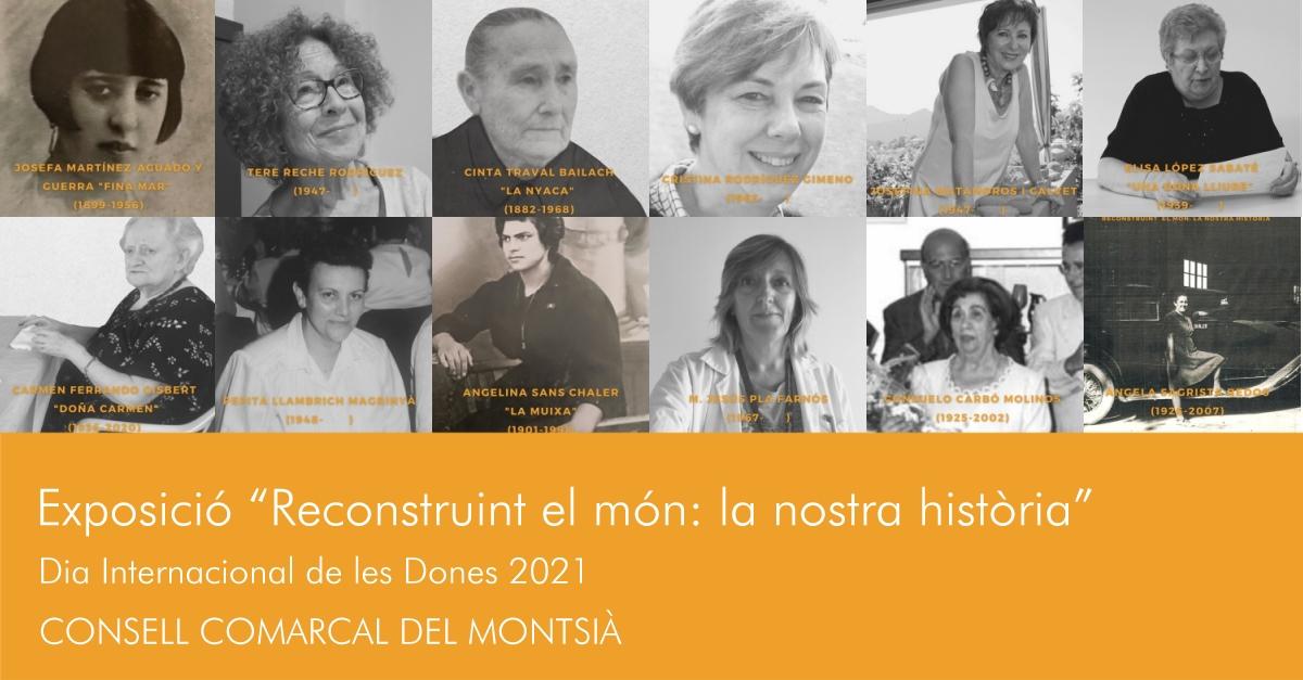 Exposició «Reconstruint el món: la nostra història» - Galeria d'imatges
