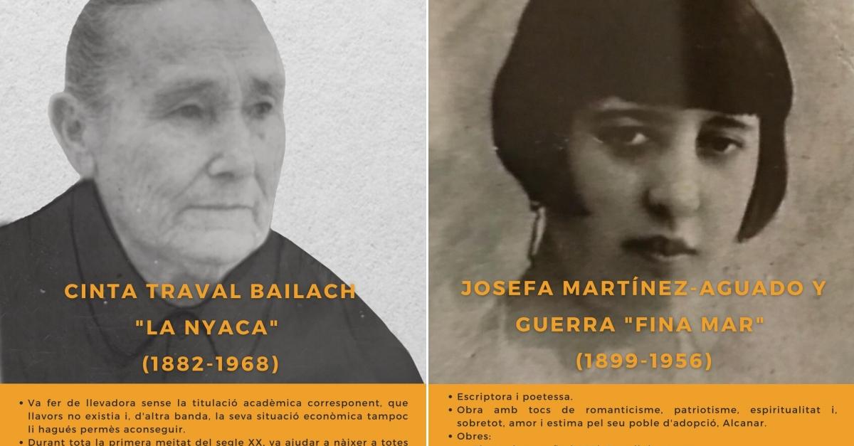 """Dotze dones referents del Montsià a l'Exposició """"Reconstruint el món: la nostra història"""""""