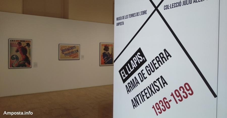 Exposició «El llapis, arma de guerra antifeixista 1936–1939»
