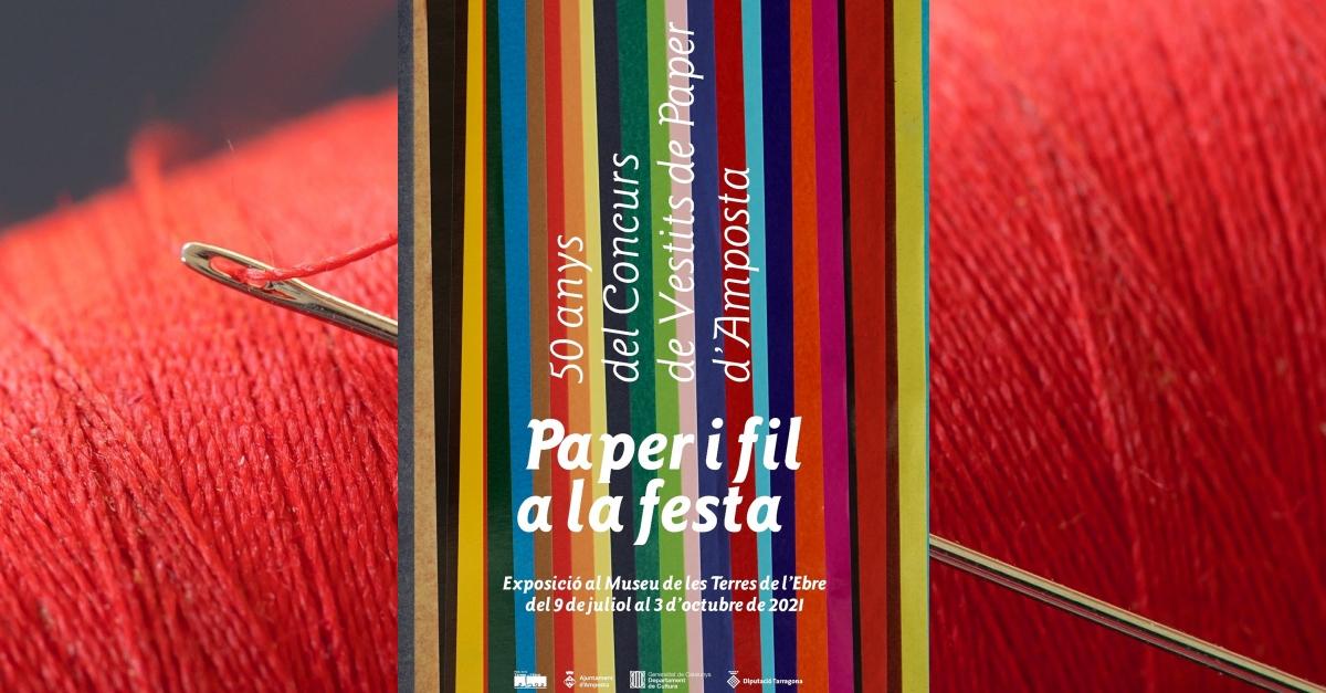 Paper i fil a la festa. 50 anys del Concurs de Vestits de Paper d'Amposta