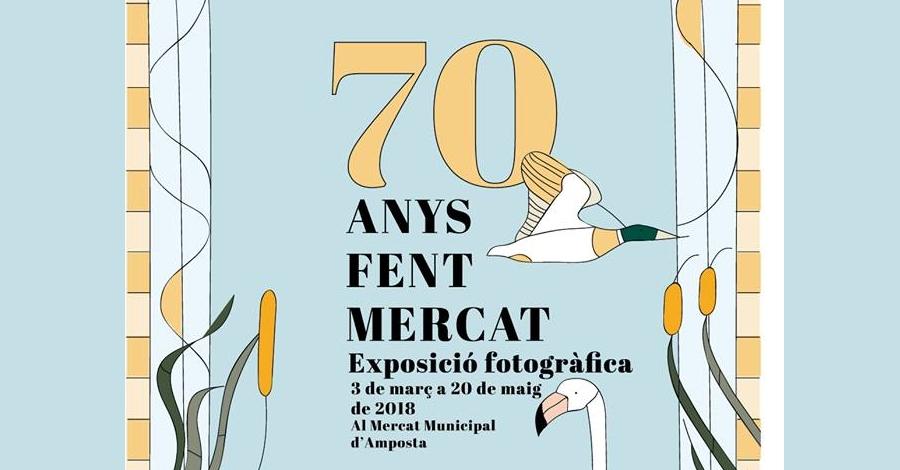 """Exposició fotogràfica """"70 anys fent Mercat"""""""