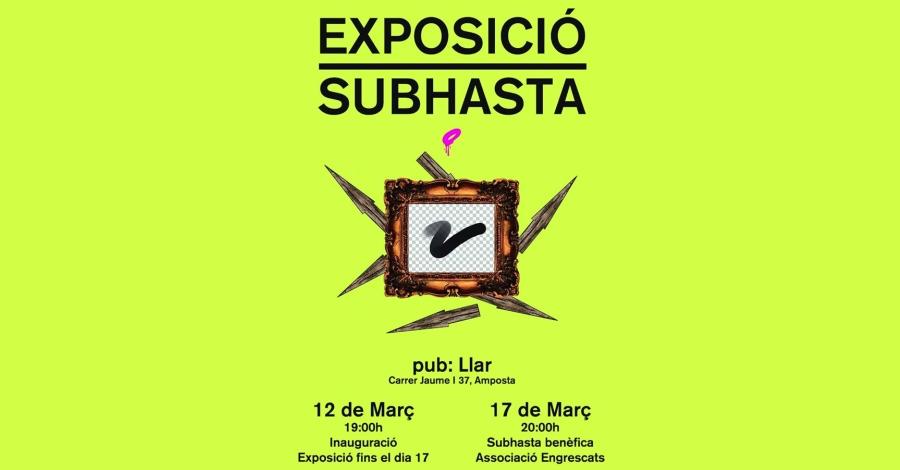 Exposició-subhasta d'art