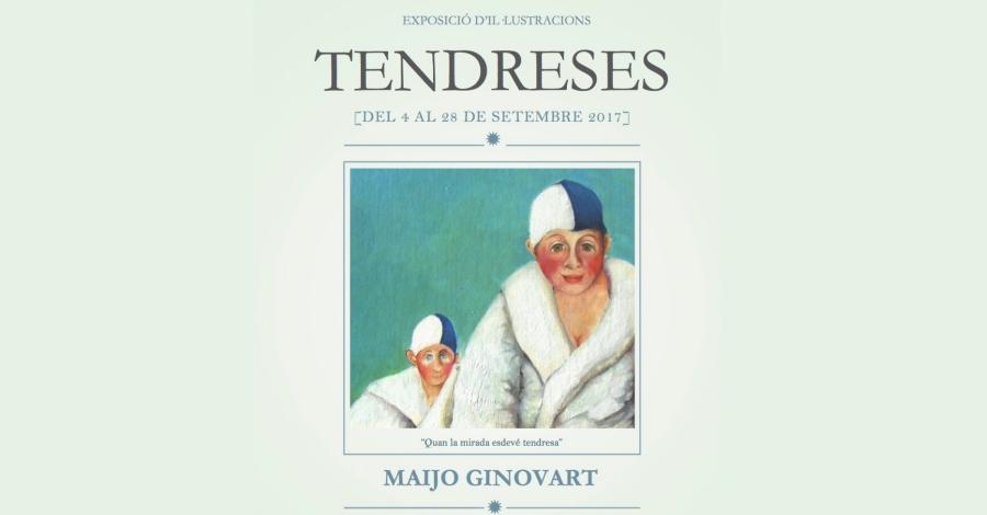 Inauguració de l'exposició «Tendreses» de Maijo Ginovart