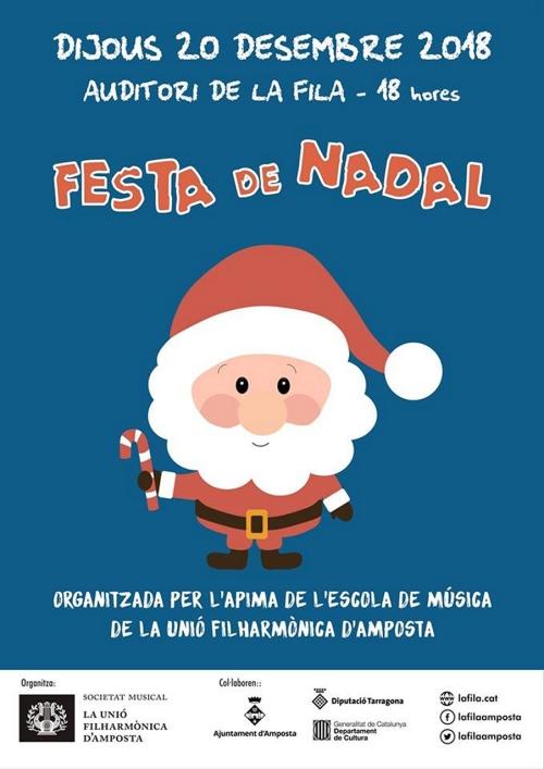 Gran Festa de Nadal a l'Escola de Música de la Fila