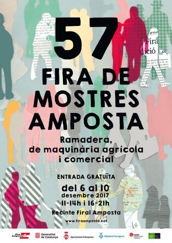 Ciutat | L'alumna d'Esardi Sanda Nàgera, dissenya el cartell de la 57a Fira de Mostres 2017 | Amposta.info