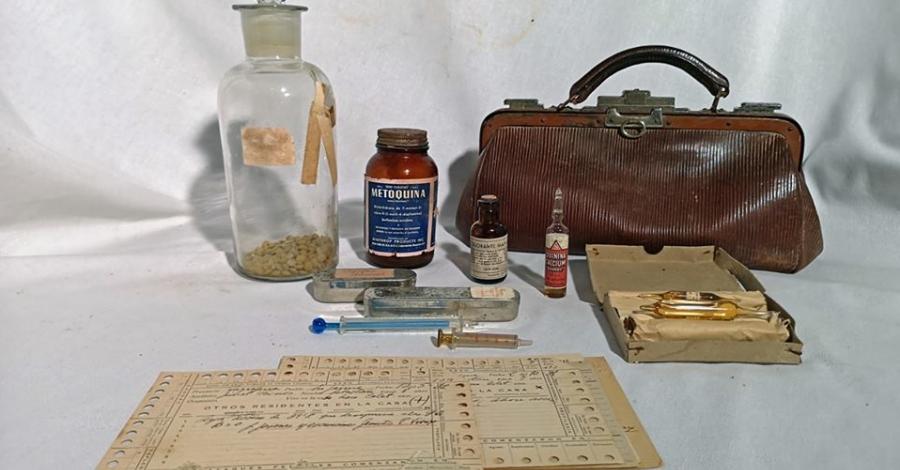 Es diposita i restaura al Museu de les Terres de l'Ebre el llegat material del Dr. Ildefonso Canicio