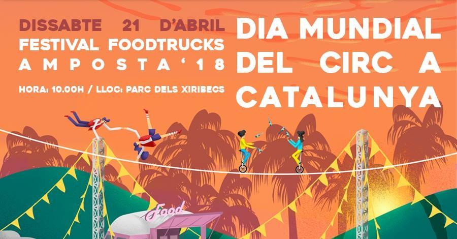 Festival Foodtrucks Amposta 2018. Fira de la cervesa, Crafty Day, Mercat Vintage i espectacles musicals