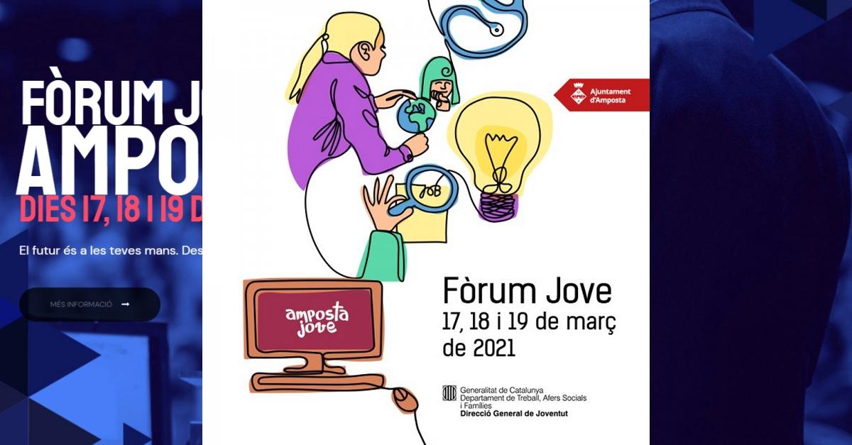 El Fòrum Jove es reinventa i aposta per les activitats online