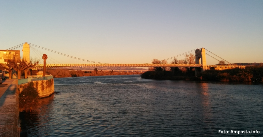 La rehabilitació de la façana fluvial, projecte guanyador dels pressupostos participatius Tu fas Amposta!