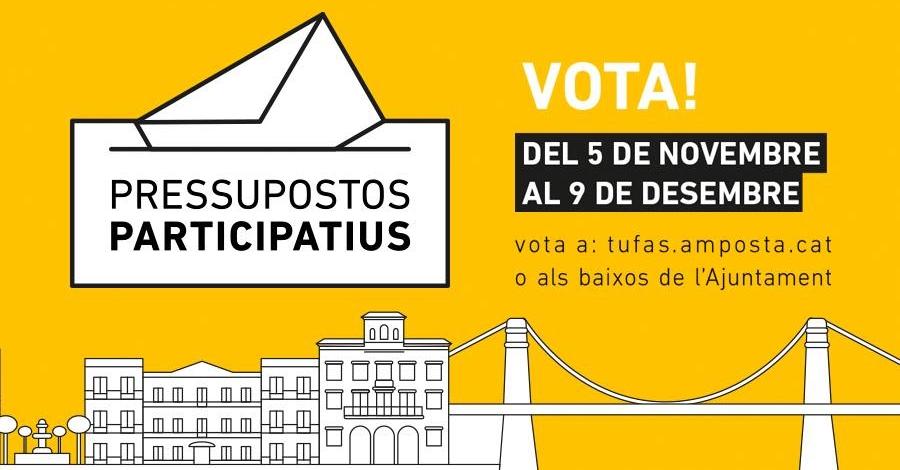 Mes de 1500 persones han participat ja en el procés de pressupostos participatius d'Amposta