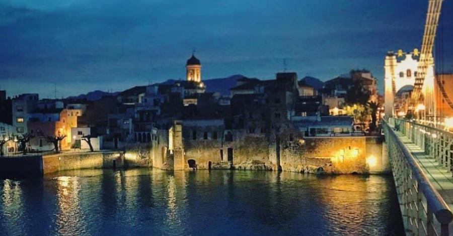 Dissabte s'inaugura la nova nova il·luminació de la façana fluvial