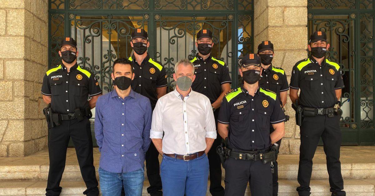 Amposta incorpora cinc nous agents al cos de Policia Local