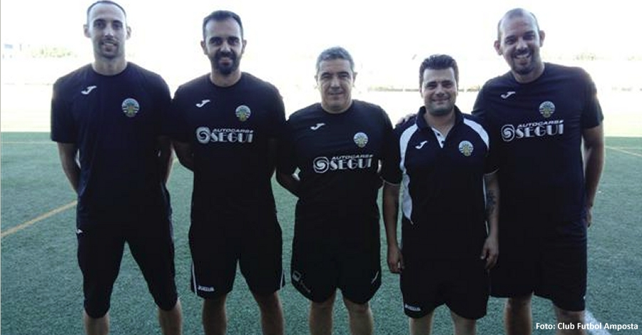 El primer equip del Club Futbol Amposta comença la pre temporada 2017/18