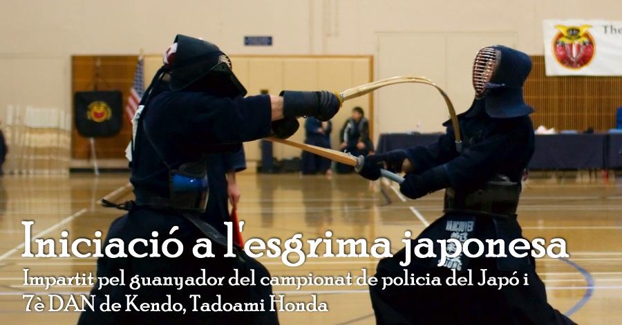 Introducció a l'esgrima japonesa
