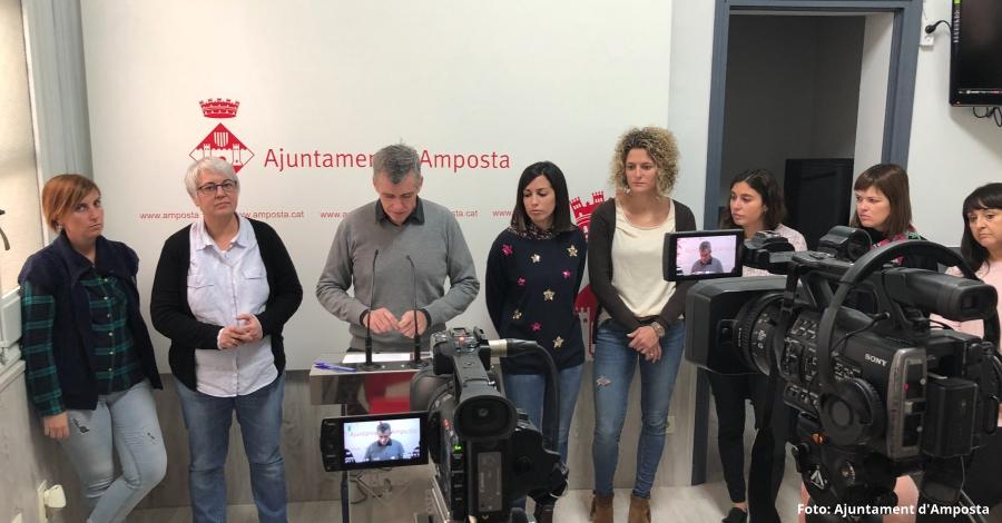 L'Ajuntament d'Amposta invertirà 1 milió d'euros en polítiques d'ocupació el 2018 | Amposta.info