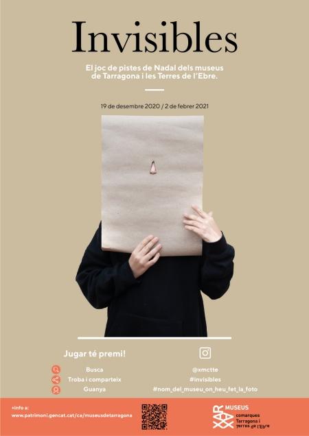 Invisibles, el joc de pistes de Nadal dels museus de Tarragona i les Terres de l'Ebre | Amposta.info