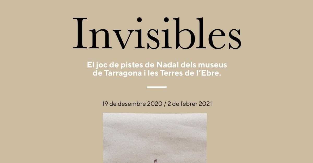 Invisibles, el joc de pistes de Nadal dels museus de Tarragona i les Terres de l'Ebre