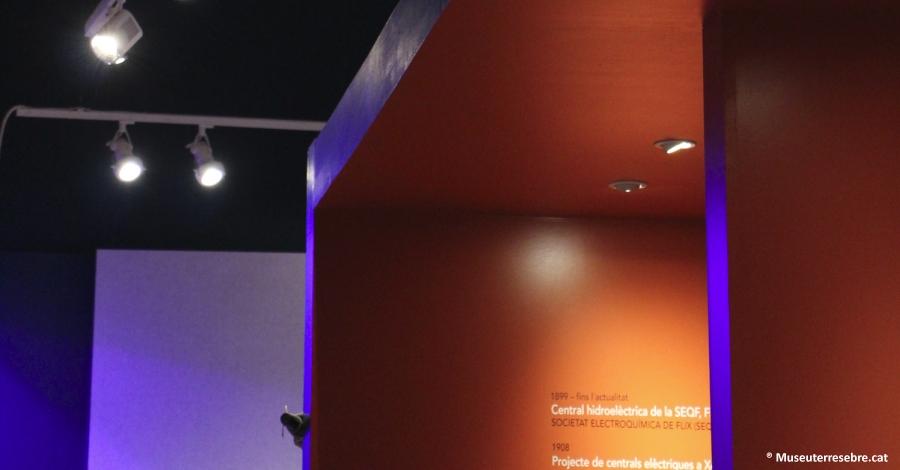 El Museu de les Terres de l'Ebre instal·la leds en totes les sales d'exposició