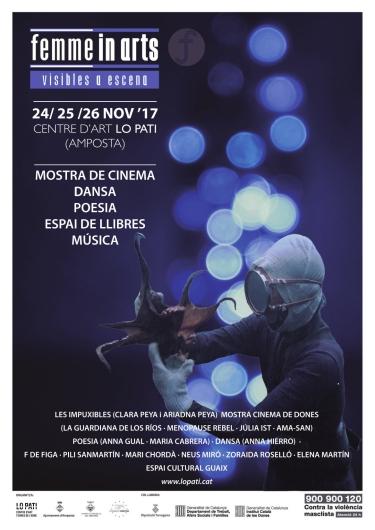 Lo Pati impulsa Femme in Arts, un festival que posa a escena la lluita de gènere des d'una perspectiva artística | Amposta.info