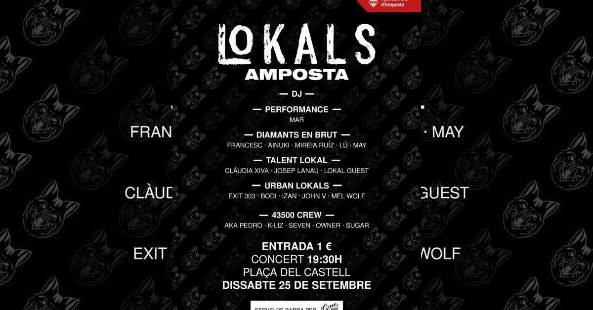 El col·lectiu artístic Lokals actuarà a Amposta el 25 de setembre