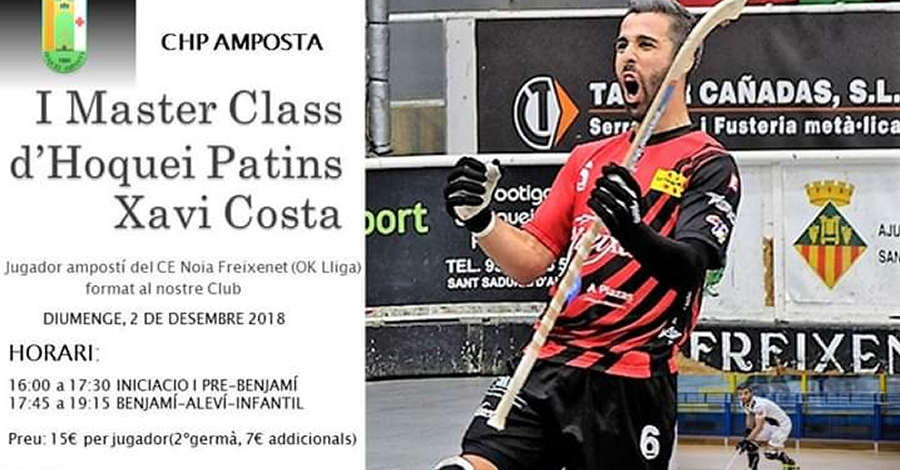 I Master Class d'Hoquei Patins Xavi Costa