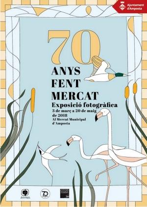 El Mercat d'Amposta enceta la celebració del seu 70è aniversari   Amposta.info