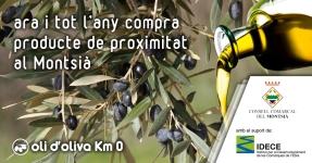Montsià: Oli d'oliva Km 0