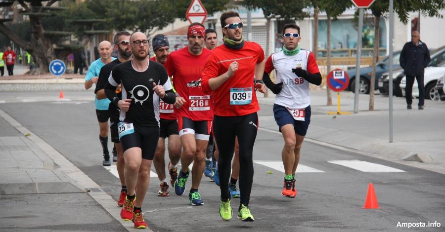 Jornada de curses urbanes la d'ahir diumenge a Amposta