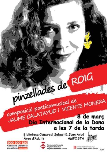 La figura de Montserrat Roig centrarà la celebració del Dia Internacional de la Dona a la Biblioteca | Amposta.info