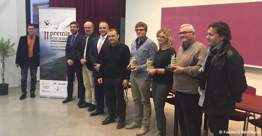 """L'ampostí Santi Valldepérez guanya el Premi """"Món Rural"""" de periodisme"""