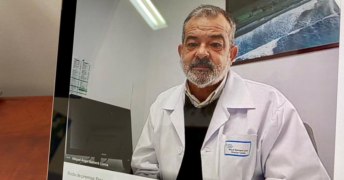 Miquel Àngel Barberà, nou director de  l'Hospital Comarcal d'Amposta