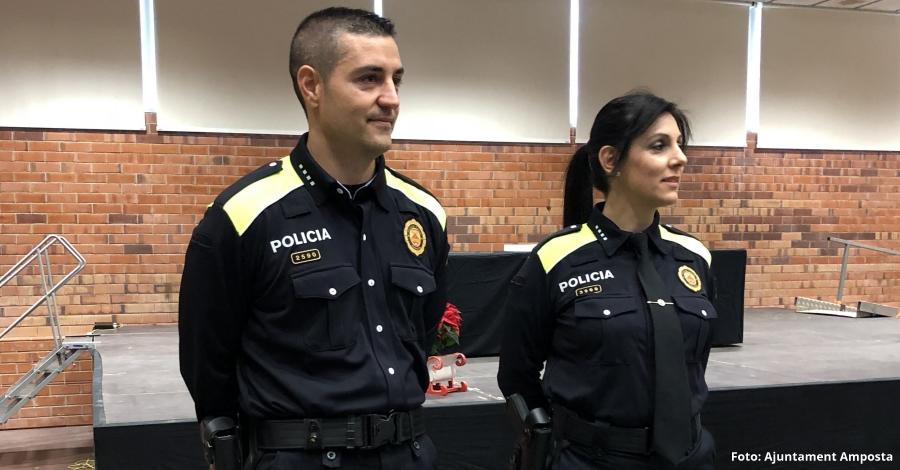 La Policia Local d'Amposta, primera de les Terres de l'Ebre en estrenar la nova uniformitat de país
