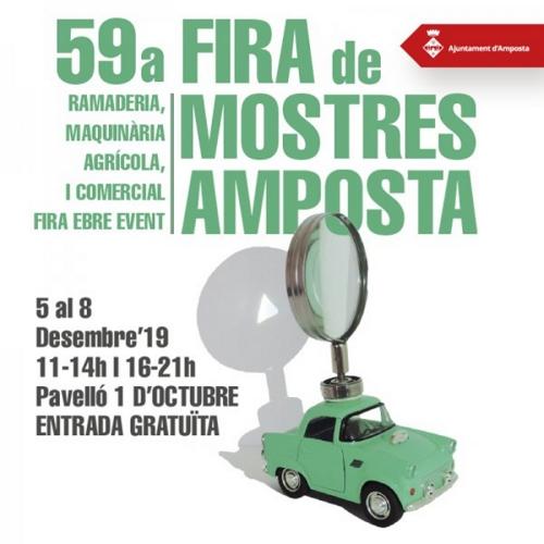 La 59a Fira de Mostres ja té cartell | Amposta.info