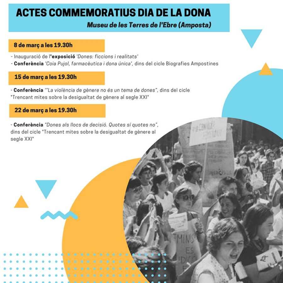 El Museu de les Terres de l'Ebre programa diverses activitats per commemorar el Dia de la Dona   Amposta.info