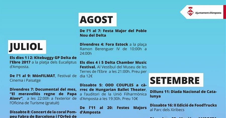 Música, festa, tradicions i modernitat en un estiu ple d'activitats
