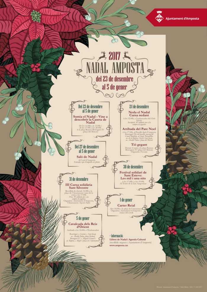 Aquest dissabte es dóna el tret de sortida al programa d'activitats del Nadal  | Amposta.info
