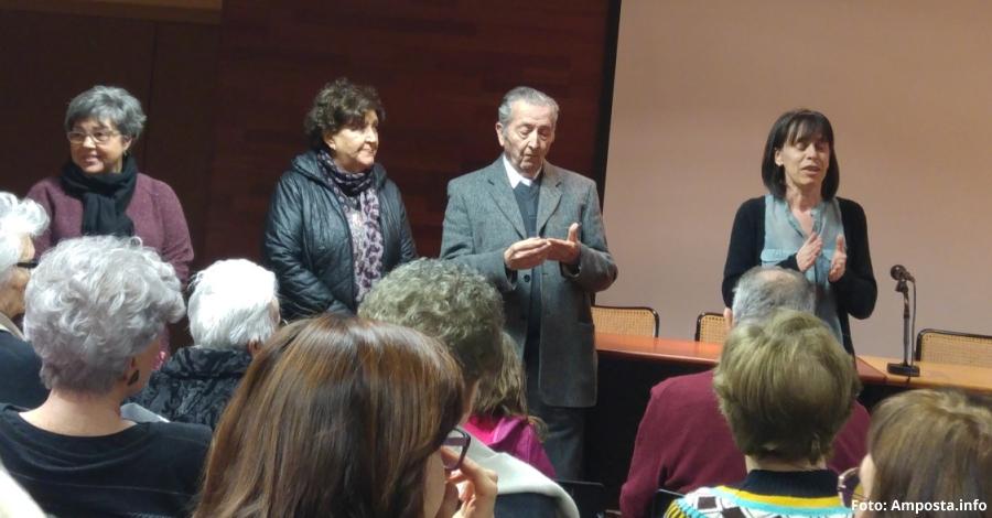 Mario López Albiol, docent i home de lletres, primera de les Biografies ampostines 2018