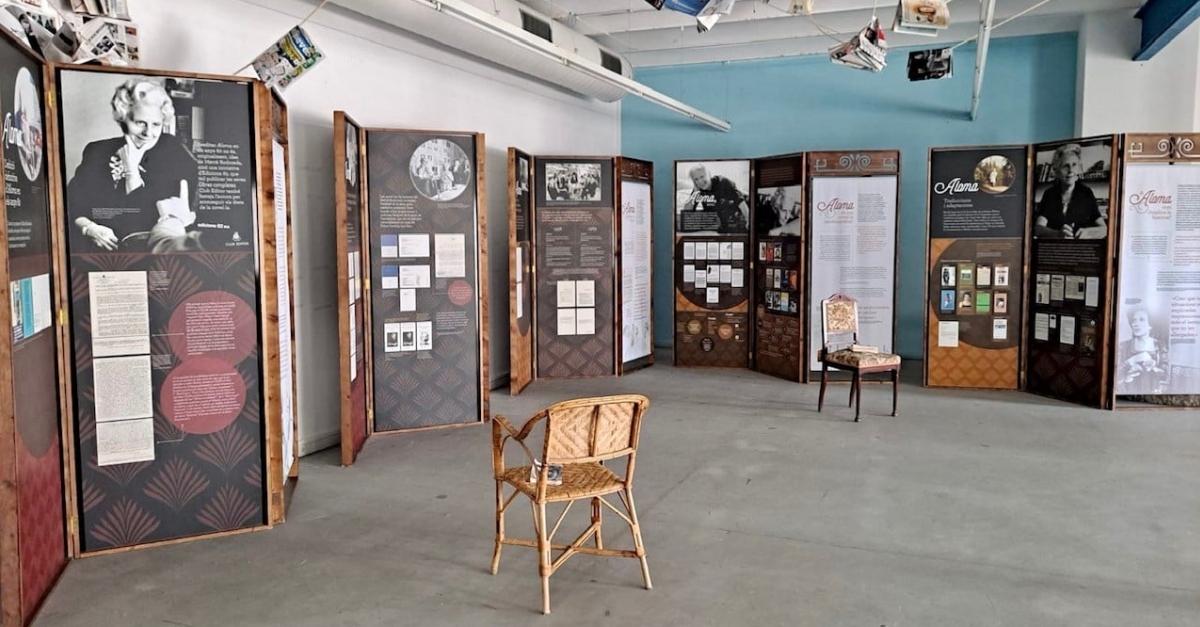 La Biblioteca acull l'exposició Aloma de Mercè Rodoreda. 50 anys de la segona edició de la novel·la