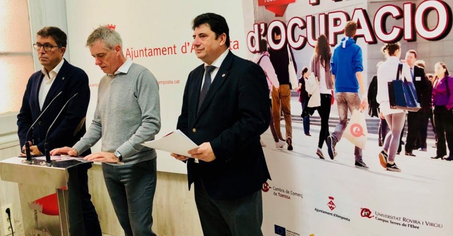 Vint-i-cinc empreses oferiran 100 llocs de treball a la Fira d'Ocupació de la Cambra de Comerç | Amposta.info