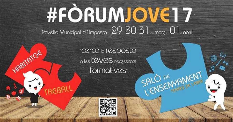 Fins a 57 expositors estaran presents al #FòrumJove17
