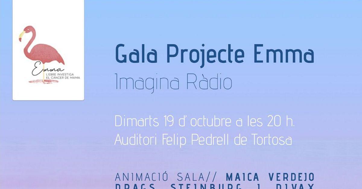 El Projecte Emma, a punt d'aconseguir els 150.000 € en donacions, celebra el Dia Mundial del Càncer de Mama amb una gala solidària