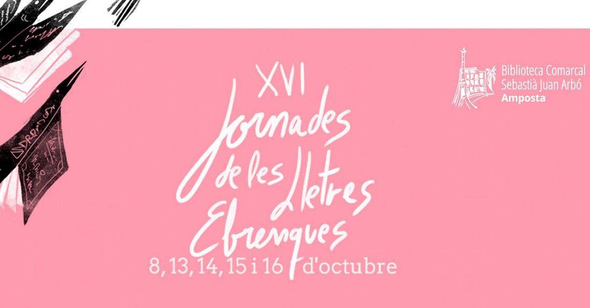 Les XVI Jornades de les Lletres Ebrenques seran punt de trobada de traductors i homenatjaran Josep Igual